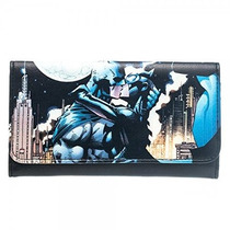 Billetera Bioworld Batman & Batgirl Comic Para Mujer