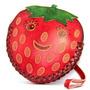 Cartera Cuero Monedero Animales / Pulsera - Stawberry (j107
