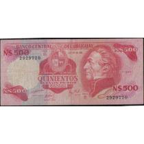 Uruguay, 500 Nuevospesos Nd1978 P63b