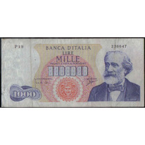 Italia 1000 Liras 5 Jul 1963 P96b