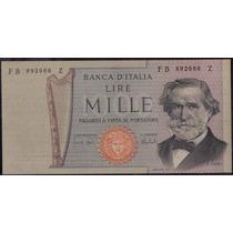 Italia 1000 Liras 15 Feb 1973 P101b