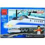 Juguete Para Armar Tipo Lego Locomotora Tren Bala