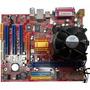 Board, Procesador Cooler, Lata Ddr2 P4m8pm7 Pro Pem4 A 2.8