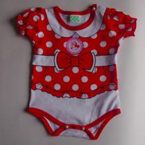 Body Mameluco Minnie Bebé + Obsequio