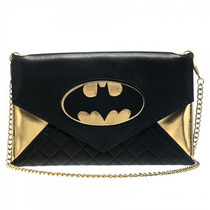 Bolso Con Cadena Bioworld Batman Femenino
