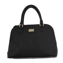 Bolso Calvin Klein Saffiano Leather Satchel Ifs Femenino