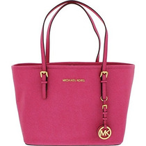 Bolso De Michael Kors Mujeres Saffiano Leather Travel Peque