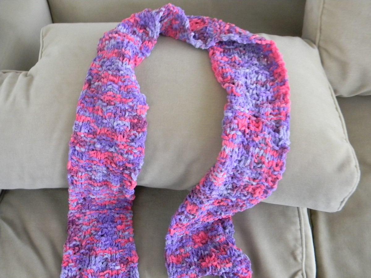 Pin hermosas originales bufandas tejidas mano bsf pictures - Bufandas de lana originales ...