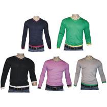 Sacos Sweater En Hilo Hanger 1978 5 Colores Hilo Algodon