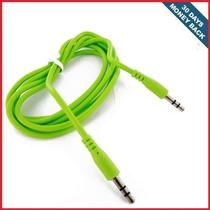 Cable 3.5mm Audio Stereo Aux Para Nokia Lumia 925 Verde
