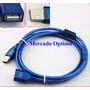 Cable Usb 2.0 Extensión 1,8 Mts, Terminal A Macho A A Hembra