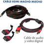 Cable Hdmi Macho Macho 15 Metros / 3093