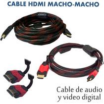 Cable Hdmi Macho Macho 3 Metros / 3096