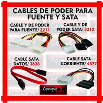 Cables Y De Poder Sata / 3212