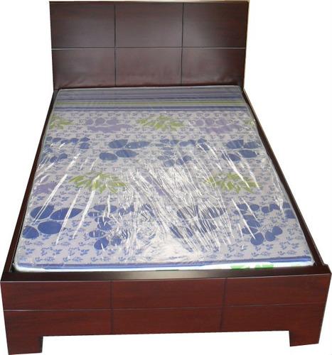 Camas en dormitorio mercadolibre colombia tattoo design bild for Precio sofa cama matrimonial