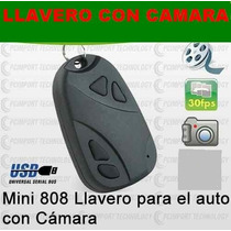 Llavero De Carro Con Camara Espia-video-audio-fotos-