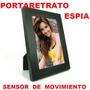 Portaretrato Con Camara Espia-videos-fotos-sensor Movimiento