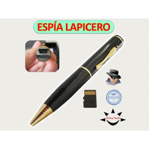 Camara Espia Lapicero Mini Camara Oculta Esfero 8gb Incluida