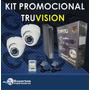 Cctv Kit De Seguridad 4 Ch+ Disco Duro Garantia 3 Años