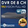 Cctv Dvr Para 8 Camaras Truvision No Ip Hd, Garantia 3 Años
