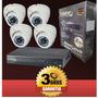 Cctv Kit 8 Camaras De Seguridad Garantia 2 Años No Ip!!