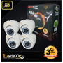 Cctv Kit 4 Camaras Seguridad Ahd Power Truvision