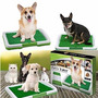 Tapete Baño Entrenamiento Puppy Potty Pasto Perros Mascotas