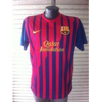 Camiseta Nike Fc Barcelona 2011 Usada En Buen Estado