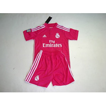 Uniforme Real Madrid 2014/2015 James Niño Fucsia