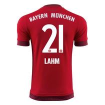 Camiseta Bayern Munich 15 16 Local Lahm Adidas