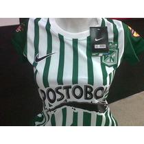 Camiseta Oficial Atletico Nacional Nike 2013 Dama
