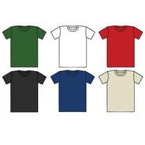 Camisetas De Colores En Algodón Con Cuello Redondo Medellin