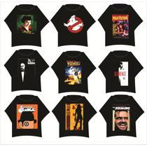 Camisetas Estampadas De Peliculas De Cine Y Series De Tv