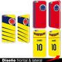 Carcasa Estuche Iphone 6 Plus 5s 5 4s Selección Colombia 7 S