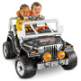 Jeep De Bateria Para Niños Wrangler - Fisher Price
