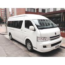 Vendo Permuto Microbus Jinbei 2014 Con Poco Recorrido