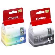 Cartucho Canon 41 Color Generico Y Original Nuevo