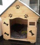 Casas para perros de raza grande madera y teja plastica - Casa de perro grande ...