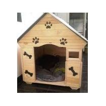 Casas Para Perros De Raza Grande - Madera Y Teja Plastica