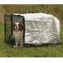 Casa Para Perro Canopy Cajón Solar En Silver 6 Pies X 6 Pie