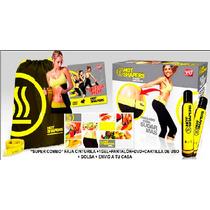 Faja Hotshaper + Pantalón + Gel +dvd+cartilla+bolsa