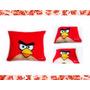 Cojin Angry Birds. Personalizados