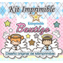 Kit Imprimible Bautizo Candy Bar Invitaciones Souvenirs