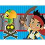 Kit Imprimible Jake Y Los Piratas Candy Bar Tarjetas Y Mas