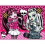 Kit Imprimible Monster High Candy Bar Tarjetas Cumpleanos #1