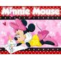 Kit Imprimible Minnie Mouse Diseñá Tarjetas , Cumples Y Ma#2
