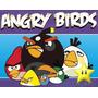 Kit Imprimible Angry Birds Diseñá Tarjetas, Cumples Y Mas #2