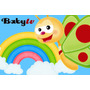 Kit Imprimible Baby Tv - Tarjetas - Cajitas - Invitaciones