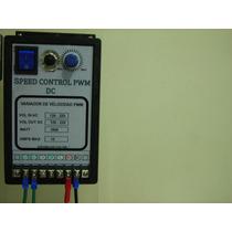 Variador De Velocidad Pwm Dc Análogo Tipo Industrial 1800wtt