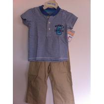 Conjunto Pantalón Y Camisa Para Bebe Carters